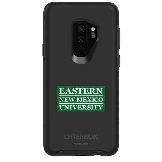 GAL-S9P-BK-SYM-ENMU-D101: FB Eastern New Mexico OB SYMMETRY Case for Galaxy S9+